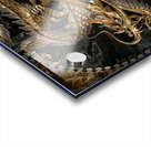 fantasy Dragon Pentagram Acrylic print