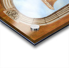 Marbled Urn Alcove - Trompe Loeil Acrylic print