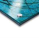 light blue abstract Acrylic print