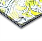 yellow girl Acrylic print