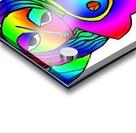 el camino rainbow Acrylic print