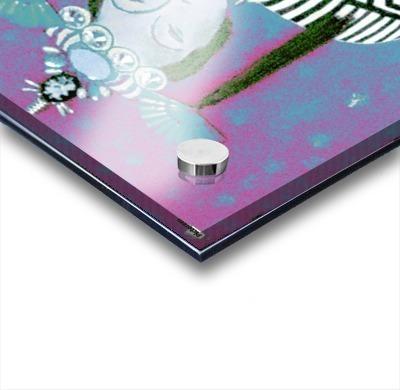 RÚ--in Turquoise Acrylic print