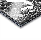 Wandering Abstract Line Art 05: Grayscale Acrylic print