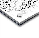 brain mind psychology idea drawing Acrylic print