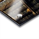books old vintage library shelves Acrylic print