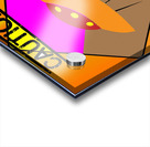 UFO CROSSING  - CAUTION Acrylic print