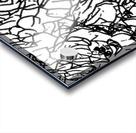Black & White Art Transparent Acrylic print