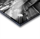 B&W Zebra Slot Canyon II Acrylic print