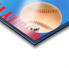 Row One Brand Wrigley Field Art Remixes_Public Domain Sports Art Remixes_Chicago Cubs Poster Acrylic print