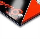 Row One Retro Remix Baltimore Orioles Press Guide Impression Acrylique
