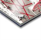 chicago map Acrylic print