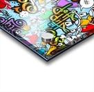 graffit characters seamless pattern Acrylic print