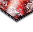 The red sea foam Impression Acrylique