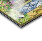 Rose cottage Acrylic print