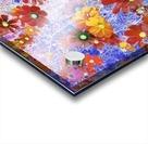 Cosmos Flowers Brown Acrylic print
