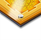 Golden Sri Yantra III Acrylic print