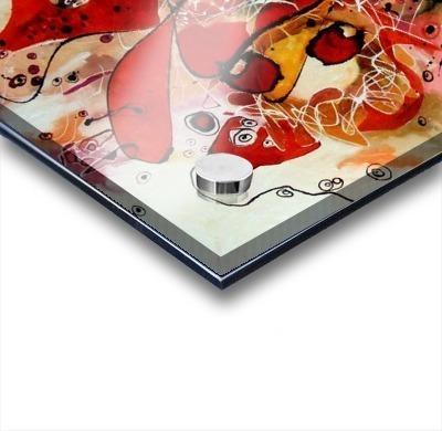 Magic red Acrylic print