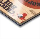 1974 Chicago Bulls Fleer Decal Art Acrylic print