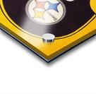 Vintage Pittsburgh Steelers Football Helmet Art Acrylic print