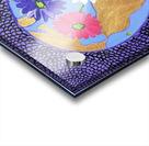 The Earth Daisy Husama Styl-Background Acrylic print