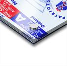 1973 New England Patriots Season Tickets Acrylic print