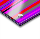 Color Bars 4 Acrylic print
