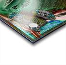 Turbulent Overturn   Sinking of Frigate Evridic Acrylic print