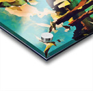 gulls laurence sisson maine art remix Acrylic print