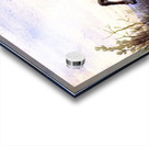 Antelope running Acrylic print