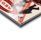 1934 Cincinnati Reds Score Book Metal Sign Acrylic print