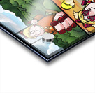 Cat the Caterpillar in Action   4 panel Favorites for Kids Room and Nursery   Bugville Critters Acrylic print