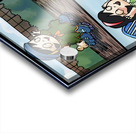 Sarah the Silkworm in Action   4 panel Favorites for Kids Room and Nursery   Bugville Critters Acrylic print