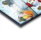 Winter Wonderland Fun   Snowballs  Snowforts and Snowman   4 panel Favorites for Kids Room and Nursery   Bugville Critters Acrylic print