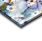 Blue Floral Acrylic print