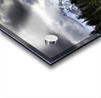 Storm Clouds, Mount Rainier, Pierce County, Washington Acrylic print