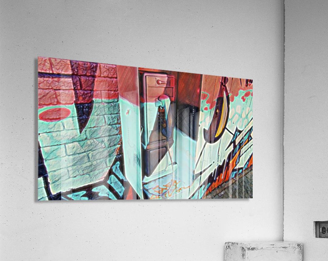 The Art Phone, Art Phone, pic art  Acrylic Print