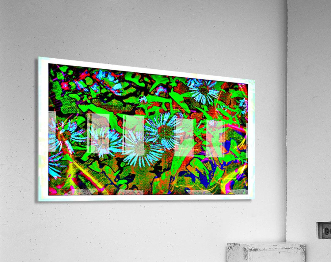 Green Flat-pic art  Acrylic Print