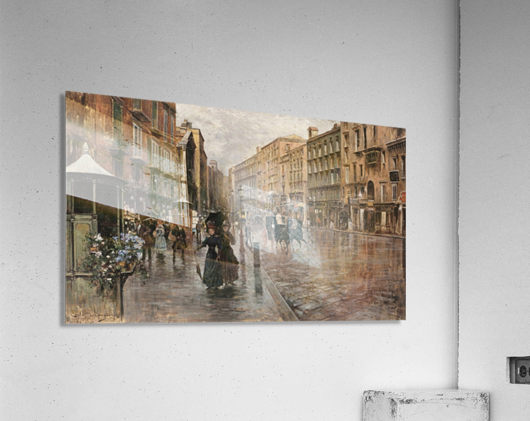 Napoli, Via Toledo  Acrylic Print