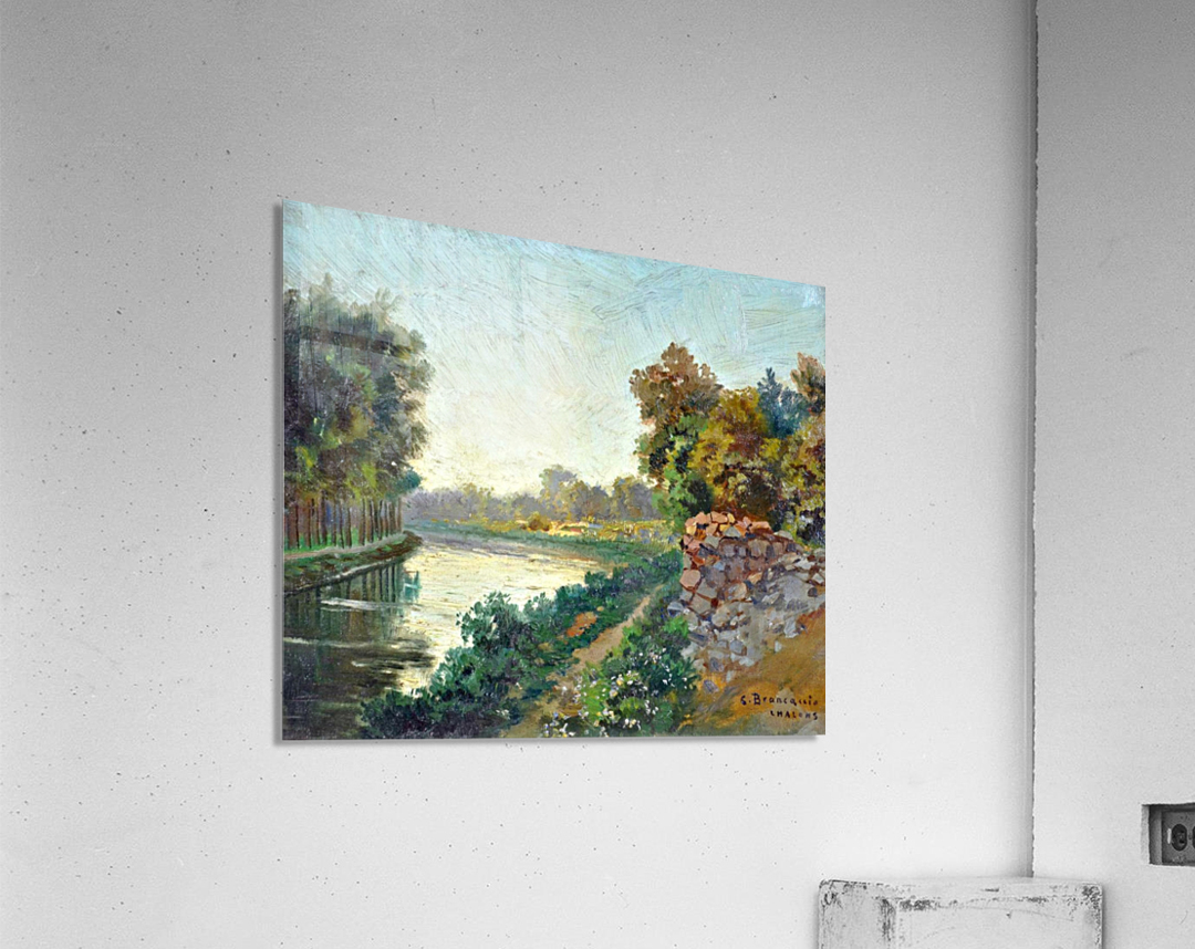 Canale a Saint Martin a Chalons  Acrylic Print