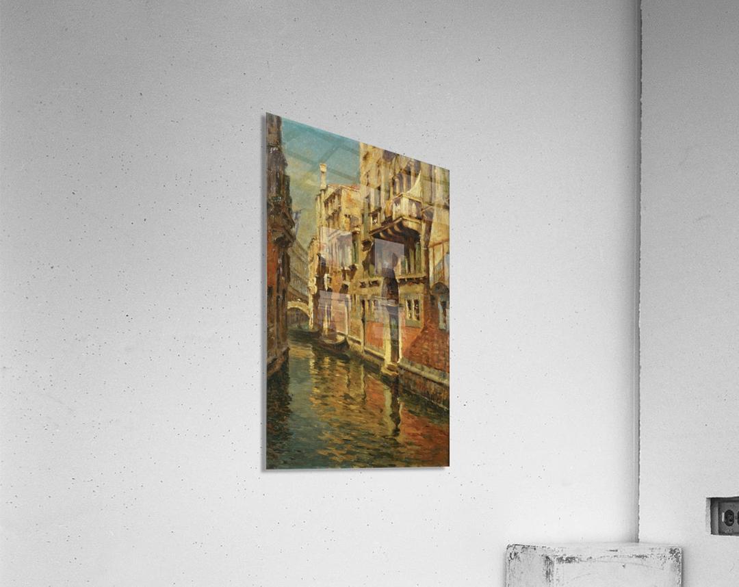Shining morning in Venice  Acrylic Print