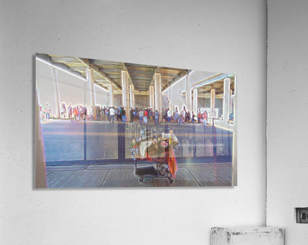 Fellowship- Church Under the Bridge- okc  Acrylic Print