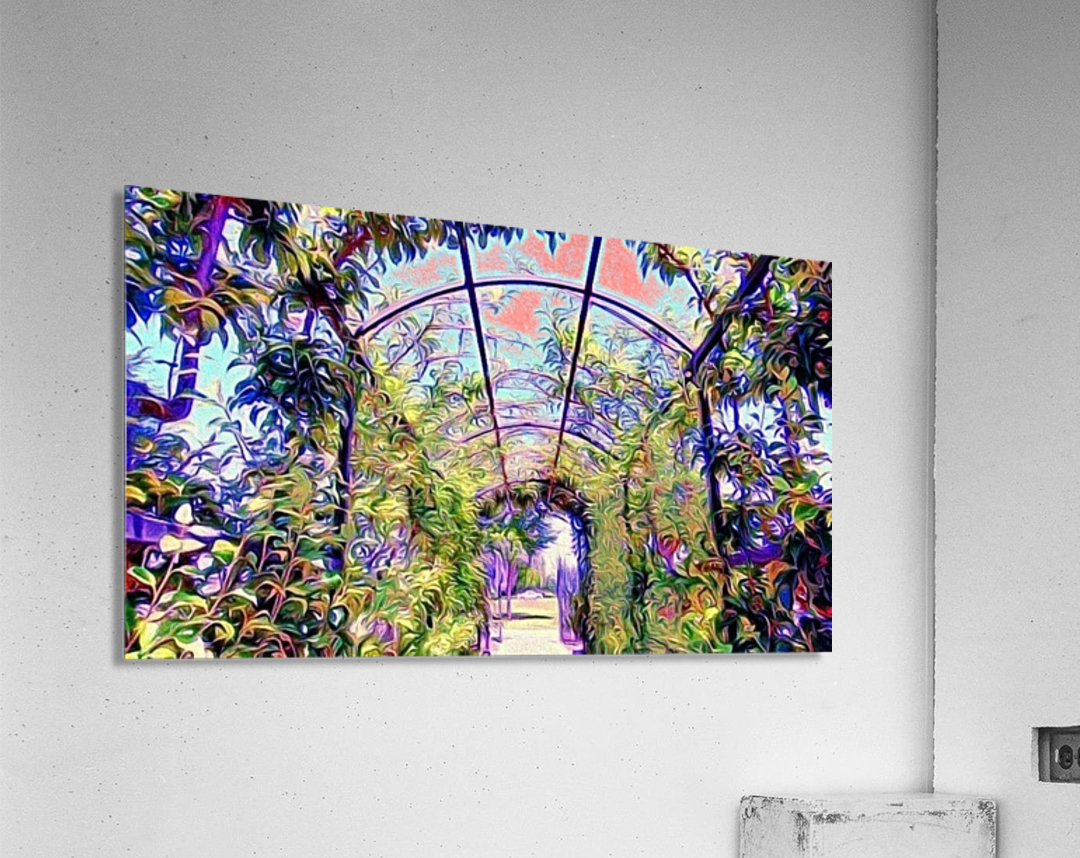 Homeless Alliance Pantry Garden. okc  Acrylic Print