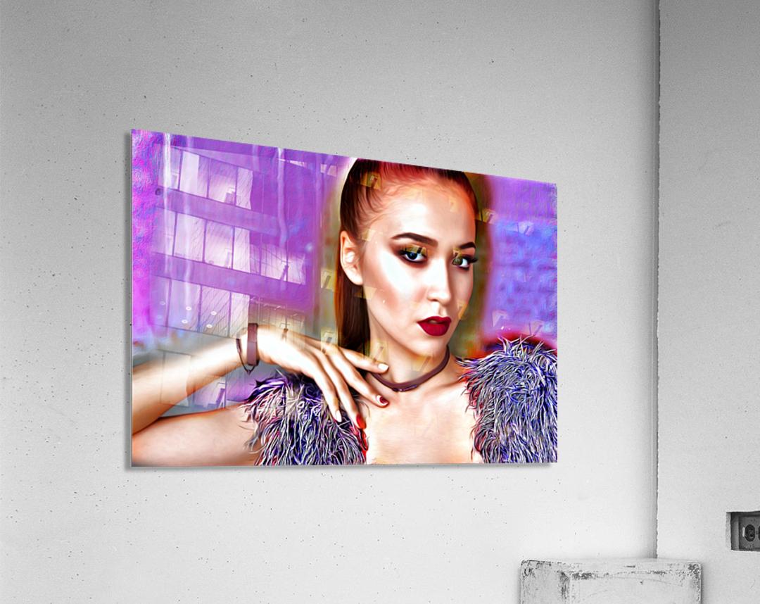 Pretty Lady  Acrylic Print