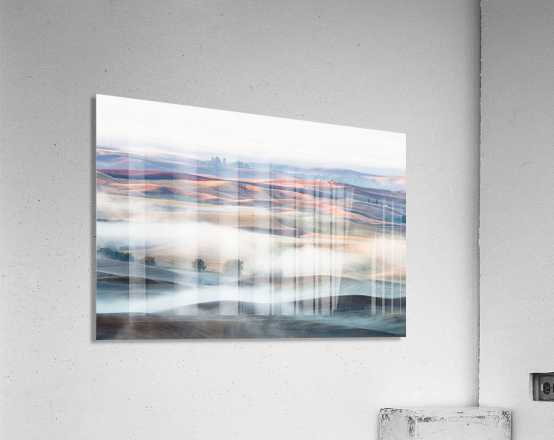 Misty Morning  Impression acrylique