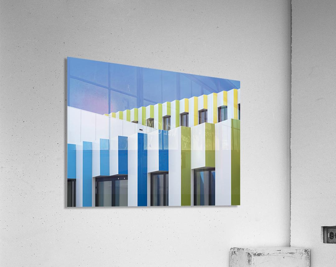 Triple facades  Acrylic Print