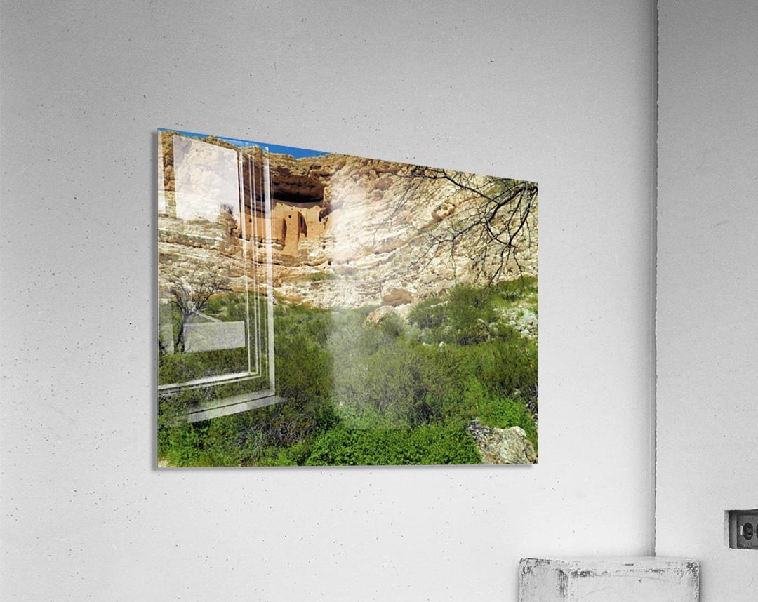 Montezuma's Castle-14  Impression acrylique