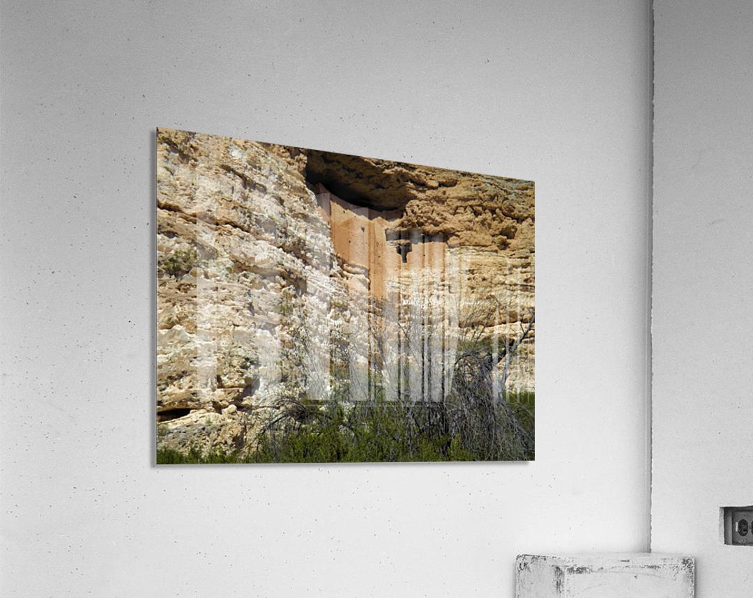 Montezuma's Castle-5  Impression acrylique