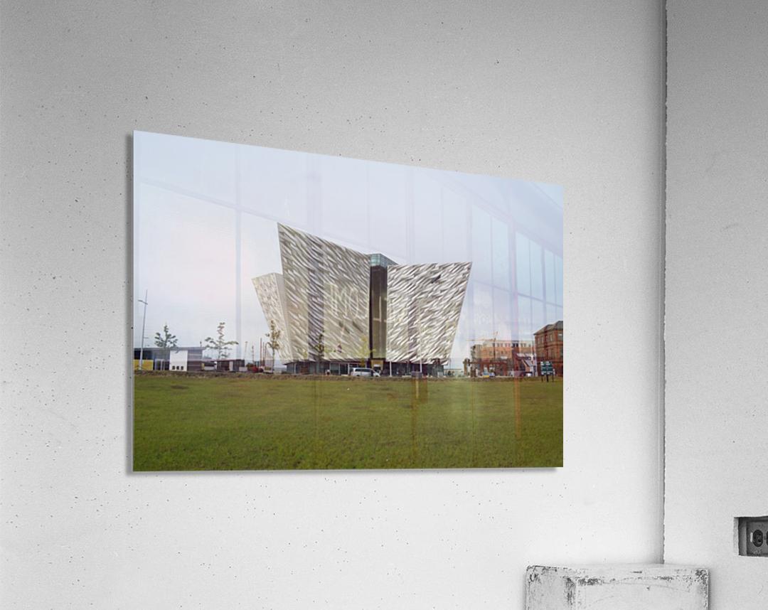 THE TITANIC MUSEUM, BELFAST  Acrylic Print