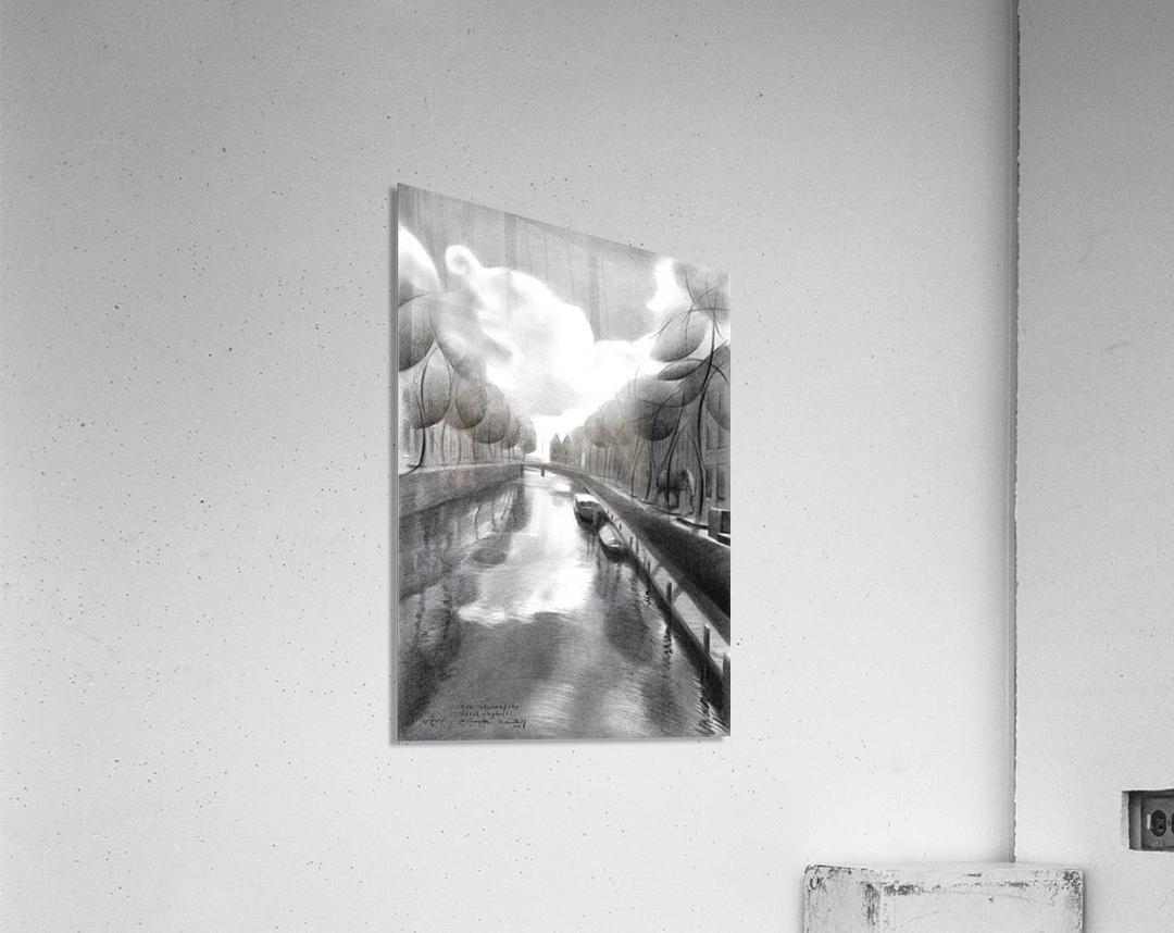 The return of the dutch elephants (@ Gouda) - 12-07-17   Acrylic Print