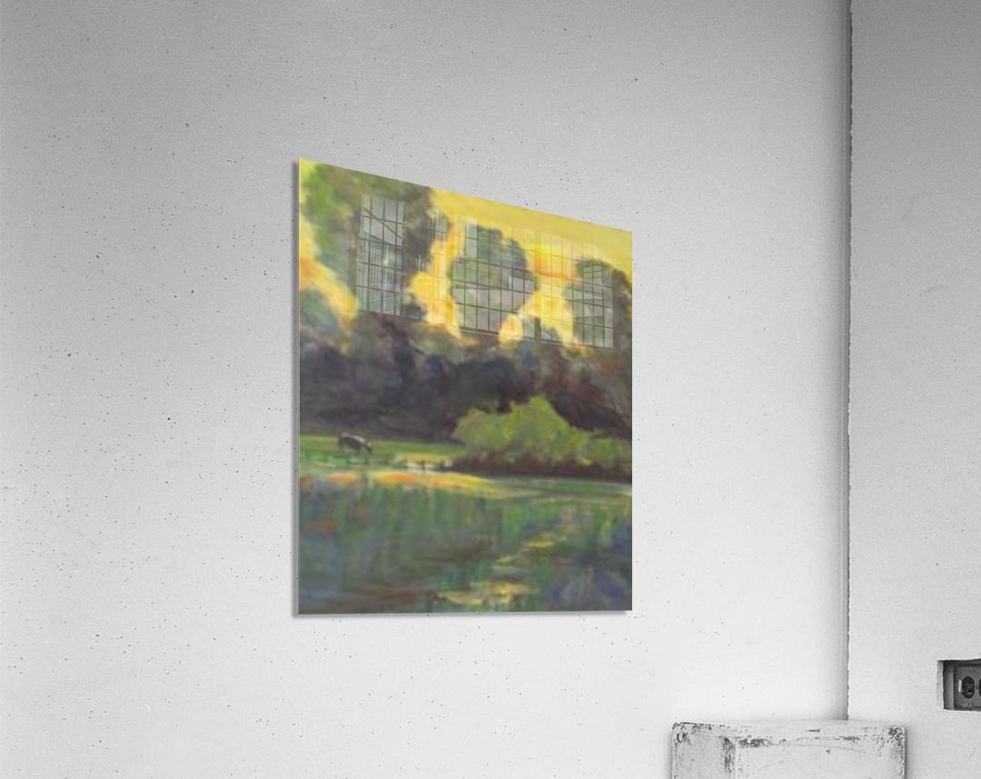 Pasture at dusk  Acrylic Print